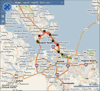 Software For Use With Your GPS Device GPS Tracking GPS Vehicle - Microsoft satellite maps