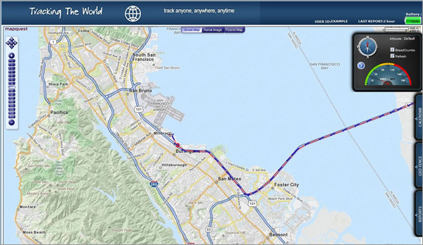 Private Label GPS Tracking Websites screenshot